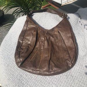 Brown Leather Vintage Bag